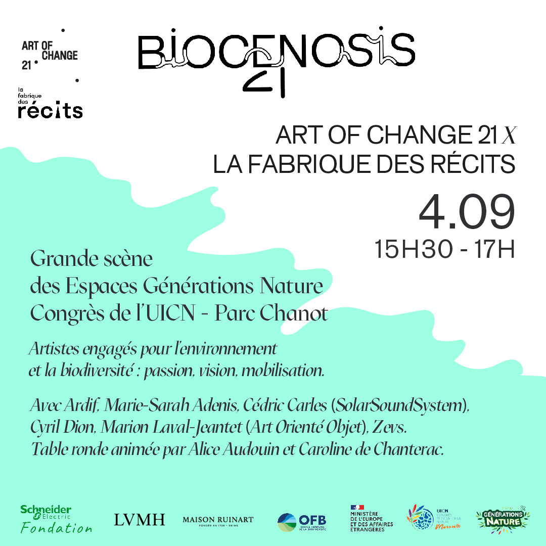 Art of change 21 x la fabrique des récits à l'IUCN